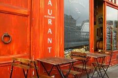 Restaurante del muelle Imágenes de archivo libres de regalías