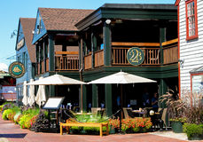 Restaurante del muelle de 22 Bowen, Newport, Rhode Island Imagen de archivo libre de regalías