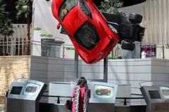 Restaurante del mundo de Ferrari imágenes de archivo libres de regalías