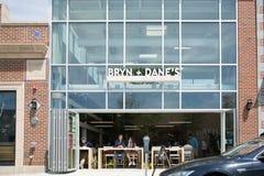 Restaurante del ` s de Bryn y del danés foto de archivo