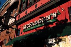 Restaurante del ` s de McFadden en San Diego Foto de archivo