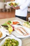 Restaurante do alimento de mar fotografia de stock royalty free
