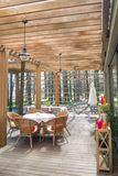Restaurante do ar aberto Foto de Stock