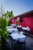 Restaurante do ar aberto Fotografia de Stock
