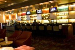 Restaurante do bar do hotel imagens de stock royalty free