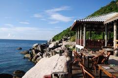 Restaurante do beira-mar Imagem de Stock Royalty Free