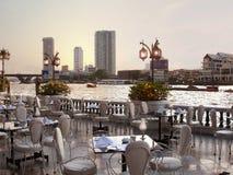 Restaurante do beira-rio Imagem de Stock Royalty Free
