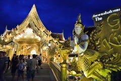 Restaurante do bufete em Fantasea, Phuket imagens de stock