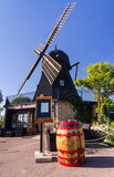 Restaurante do café do moinho de vento Fotografia de Stock