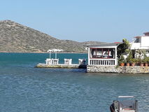 Restaurante do Cretan Imagens de Stock Royalty Free
