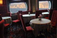 Restaurante do cruzeiro Foto de Stock Royalty Free