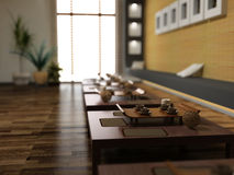 Restaurante do estilo de Ásia Imagem de Stock