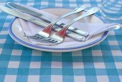 Restaurante do estilo de país Imagem de Stock