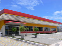Restaurante do fast food   Foto de Stock