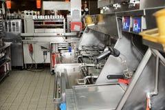 Restaurante do fast food fotografia de stock royalty free