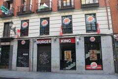 Restaurante do fast food Imagem de Stock Royalty Free