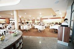 Restaurante do hotel foto de stock royalty free