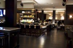 Restaurante do hotel imagens de stock
