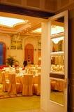 Restaurante do hotel de luxo Imagem de Stock Royalty Free