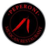 Restaurante do mexicano do logotipo Fotografia de Stock