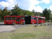 Restaurante do ônibus Fotografia de Stock