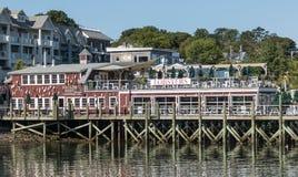 Restaurante do ninho de Eagles no porto Maine da barra Fotografia de Stock Royalty Free