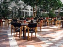 Restaurante do prédio de escritórios Fotos de Stock Royalty Free