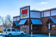 Restaurante do Roadhouse de Logan imagens de stock royalty free