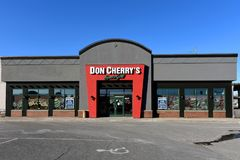 Restaurante do ` s de Don Cherry Imagem de Stock Royalty Free