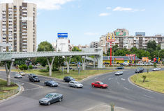Restaurante do ` s de McDonald do búlgaro em Burgas Fotos de Stock Royalty Free