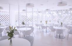 Restaurante do verão imagem de stock royalty free