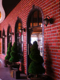 Restaurante do vintage Fotos de Stock Royalty Free