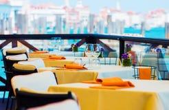 Restaurante elegante Dinning Foto de Stock Royalty Free
