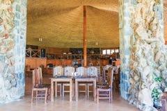Restaurante em Bahir Dar imagens de stock