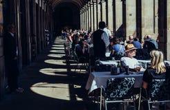 Restaurante em Barcelona Imagens de Stock Royalty Free