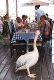 Restaurante em Chipre fotografia de stock