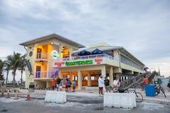 Restaurante em Dania Beach, Florida foto de stock royalty free