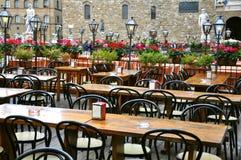 Restaurante em Italy foto de stock royalty free