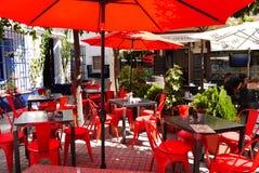 Restaurante em Marbella Fotos de Stock