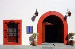 Restaurante em Oaxaca Foto de Stock Royalty Free