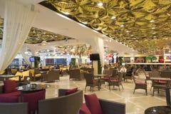 Restaurante em yekaterinburg, Federação Russa Foto de Stock Royalty Free