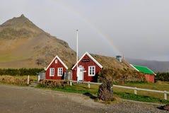 Restaurante en Arnarstapi, isla Fotografía de archivo libre de regalías