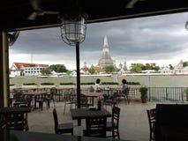 Restaurante en Bangkok Fotos de archivo libres de regalías