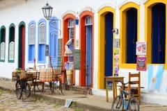 Restaurante en el Brasil Fotos de archivo