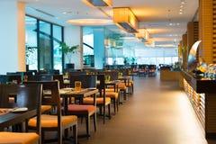 Restaurante en el hotel Imagen de archivo libre de regalías