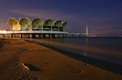 Restaurante en el océano Foto de archivo