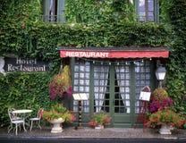 Restaurante en Francia Fotos de archivo libres de regalías