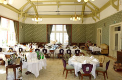 Restaurante en hotel Imagen de archivo libre de regalías