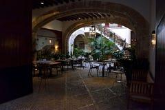 Restaurante en Palma de Mallorca imagen de archivo