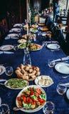 Restaurante en Sighnaghi imágenes de archivo libres de regalías